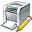 Printer Edit Icon 64x64