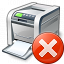 Printer Error Icon 64x64