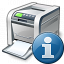 Printer Information Icon 64x64