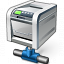 Printer Network Icon 64x64