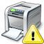 Printer Warning Icon 64x64
