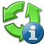 Recycle Information Icon 64x64