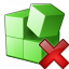 Registry Delete Icon 64x64