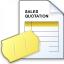 Sales Quotation Icon 64x64