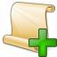 Scroll 2 Add Icon 64x64