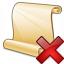 Scroll 2 Delete Icon 64x64