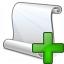 Scroll Add Icon 64x64
