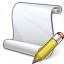 Scroll Edit Icon 64x64