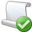 Scroll Ok Icon 64x64