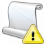 Scroll Warning Icon 64x64