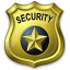 Security Badge Icon 64x64