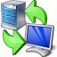 Server Client Exchange Icon 64x64