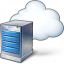Server Cloud Icon 64x64