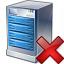Server Delete Icon 64x64