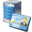 Server Id Card Icon 64x64