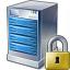 Server Lock Icon 64x64