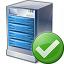 Server Ok Icon 64x64
