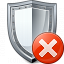 Shield Error Icon 64x64