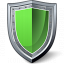 Shield Green Icon 64x64