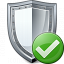 Shield Ok Icon 64x64