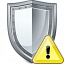 Shield Warning Icon 64x64