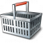 Shopping Basket Empty Icon 64x64