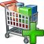 Shopping Cart Add Icon 64x64