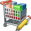 Shopping Cart Edit Icon 64x64