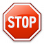 Sign Stop Icon 64x64