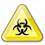 Sign Warning Biohazard Icon 64x64