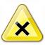 Sign Warning Harmful Icon 64x64