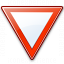 Sign Yield Icon 64x64