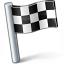 Signal Flag Checkered Icon 64x64
