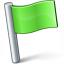 Signal Flag Green Icon 64x64