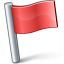 Signal Flag Red Icon 64x64