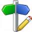 Signpost Edit Icon 64x64