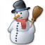 Snowman Icon 64x64
