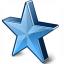 Star 2 Blue Icon 64x64