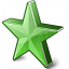 Star 2 Green Icon 64x64