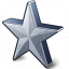 Star 2 Grey Icon 64x64