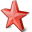Star 2 Red Icon 64x64