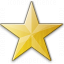 Star Yellow Icon 64x64