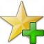 Star Yellow Add Icon 64x64