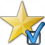 Star Yellow Preferences Icon 64x64