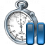 Stopwatch Pause Icon 64x64