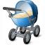 Stroller Icon 64x64