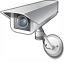 Surveillance Camera Icon 64x64
