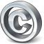 Symbol Copyright Icon 64x64