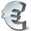 Symbol Euro Icon 64x64