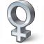 Symbol Female Icon 64x64